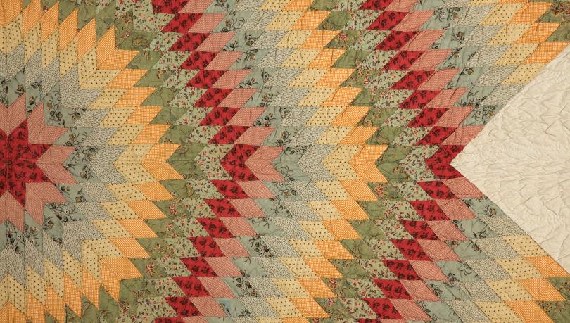 Star of Bethlehem quilt (detail)
