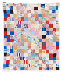 Red Cross block quilt